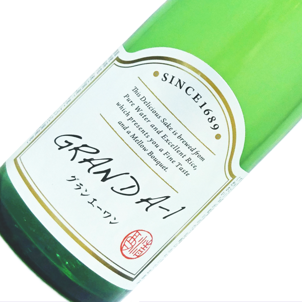 秀よし GRAND A-1(グラン・エー・ワン) 純米酒 500ml