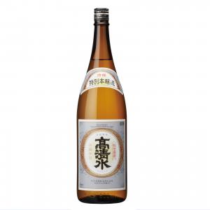 高清水 特別本醸造 特撰 1800ml