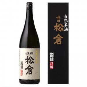 出羽鶴 松倉 自然米酒 1800ml