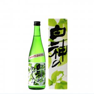白瀑 特別純米酒 白神のめぐみ 720ml
