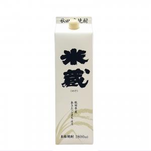 米蔵パック 本格米焼酎 1800ml