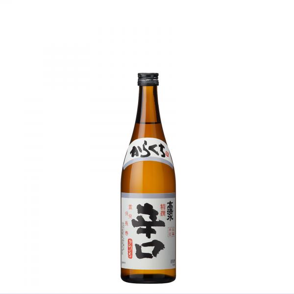 高清水 精撰辛口(普通酒) 720ml