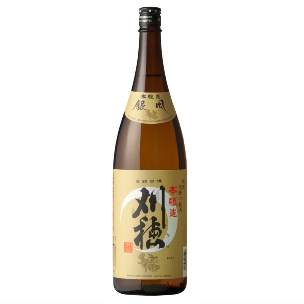 刈穂 本醸造 銀風 1800ml