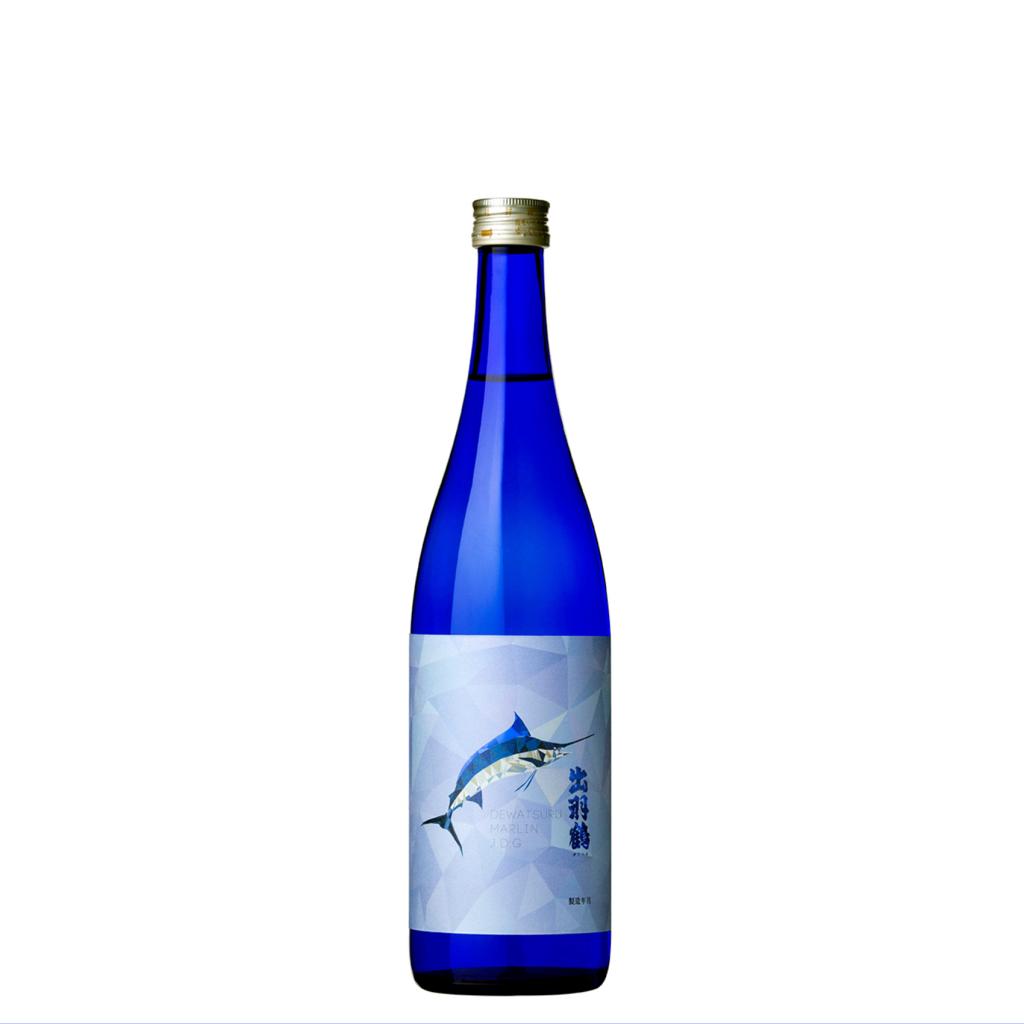 出羽鶴限定酒 純米大吟醸 MARLIN (マーリン) 720ml