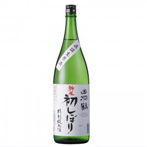出羽鶴限定酒 純米新酒生 新米初しぼり 1800ml