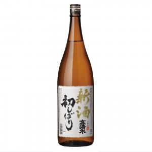 高清水 新酒初しぼり 本醸造 1800ml
