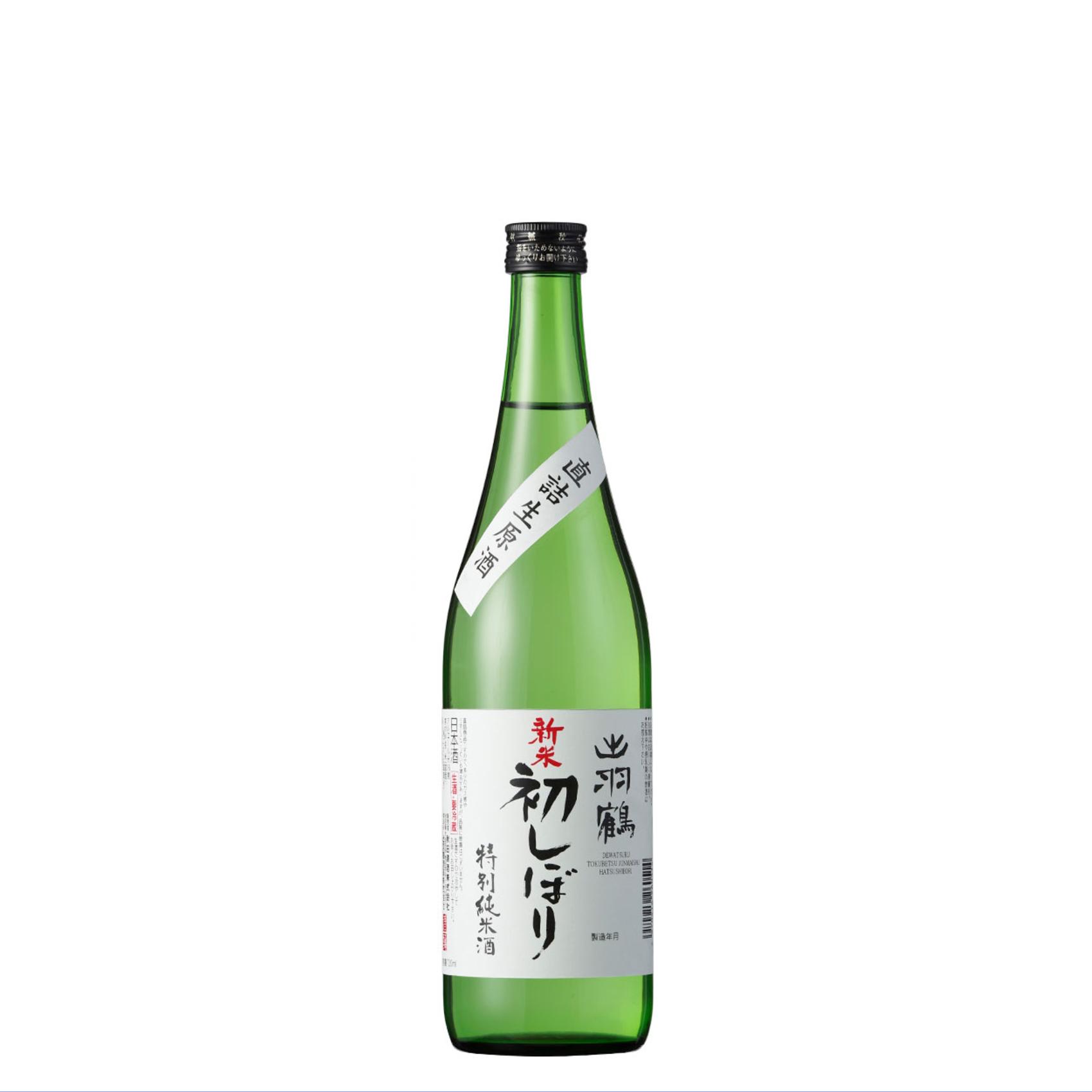 出羽鶴限定酒 純米新酒生 新米初しぼり 720ml