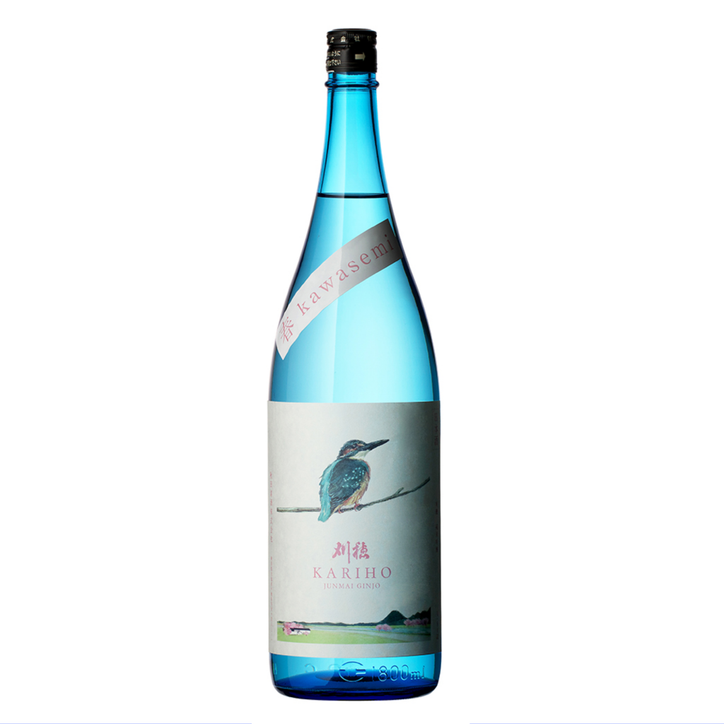 刈穂限定酒 純米吟醸生酒 春カワセミkawasemi 1800ml