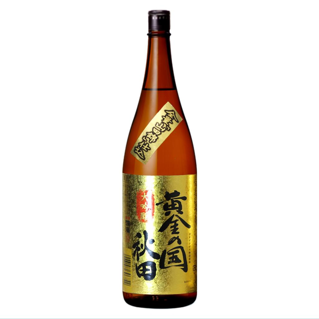 爛漫限定酒 大吟醸 黄金の国秋田 1800ml