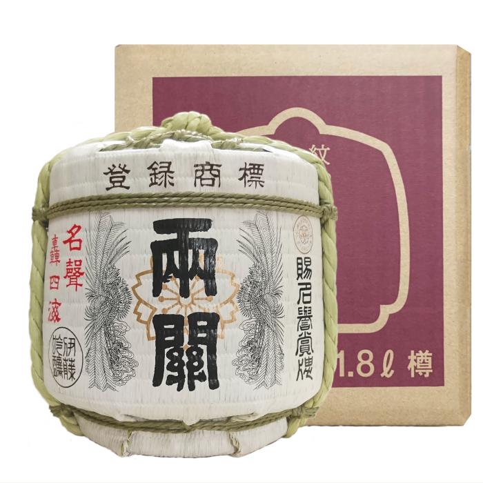 両関 ミニチュア樽 本醸造 (1800ml)