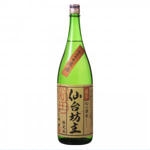 北鹿 純米吟醸原酒 仙台坊主 1800ml