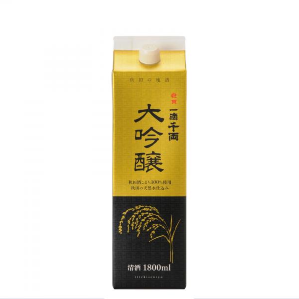 秋田県醗酵工業㈱ 一滴千両 大吟醸パック 1800ml