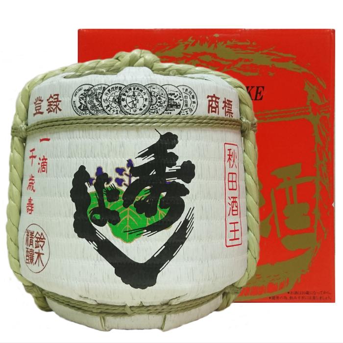 秀よし ミニチュア樽 本醸造 (1800ml)