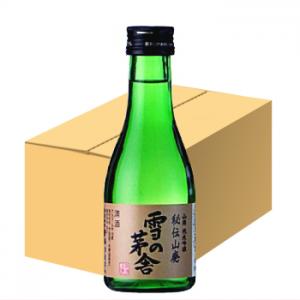 雪の茅舎 純米吟醸 秘伝山廃 180ml(20本)