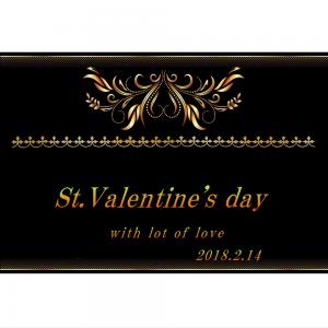 オリジナルラベル日本酒 バレンタインデー b010va