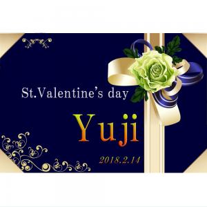 オリジナルラベル日本酒 バレンタインデー h001va