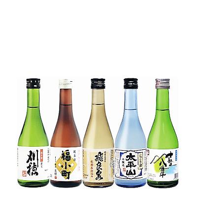秋田地酒めぐり(300ml×5)清酒編