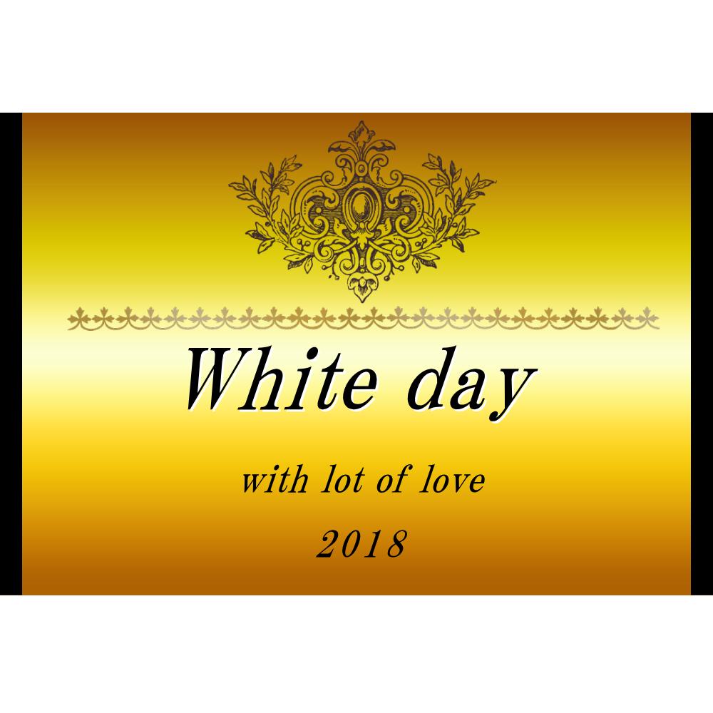 オリジナルラベル日本酒 ホワイトデー k005wh