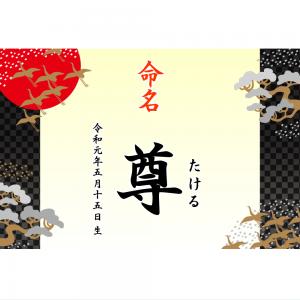 オリジナルラベル日本酒 出産祝い 誕生祝い q002nb