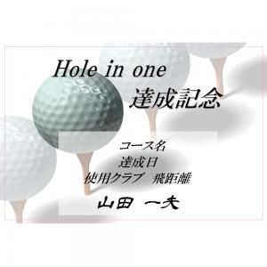オリジナルラベル日本酒 ゴルフ ホールインワン記念 s001ho