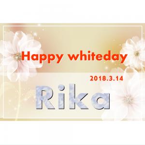 オリジナルラベル日本酒 ホワイトデー y004wh
