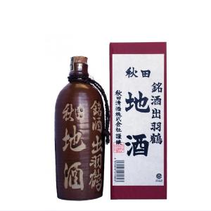 出羽鶴 銘酒地酒とっくり 500ml