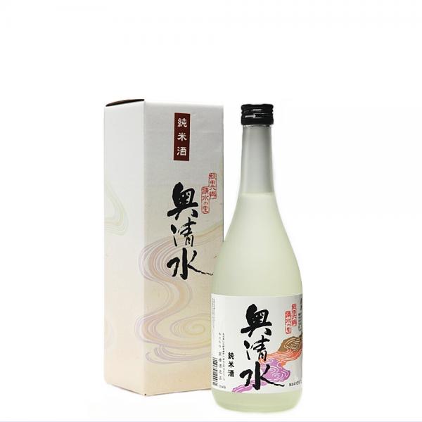 奥清水 純米酒 720ml