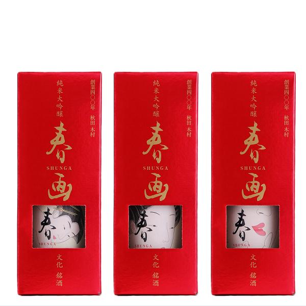 福小町限定酒 春画 純米大吟醸 化粧箱入れ720ml