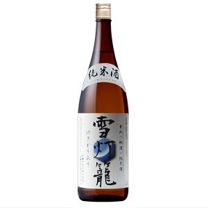 秋田誉 雪灯篭 純米酒 1800ml