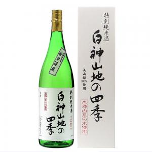 八重寿 特別純米酒 白神山地の四季 1800ml