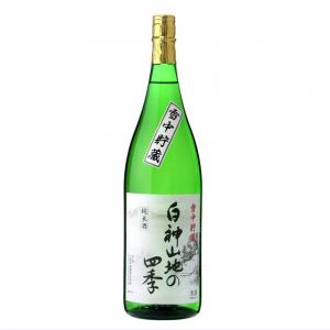 八重寿 純米酒 雪中貯蔵 白神山地の四季 1800ml