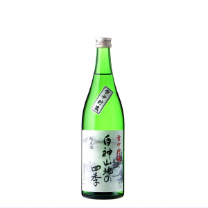 八重寿 純米酒 雪中貯蔵 白神山地の四季 720ml