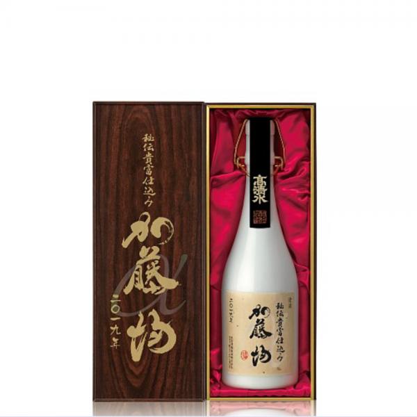 高清水限定酒 秘伝貴富仕込み 純米大吟醸 加藤均α 720ml