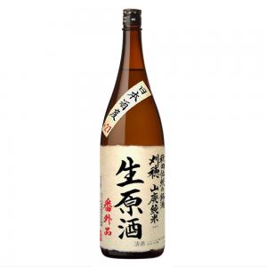 刈穂限定酒 山廃純米生原酒「番外品+21」 1800ml
