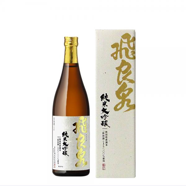 飛良泉 純米大吟醸 秋田酒こまち仕込み 720ml