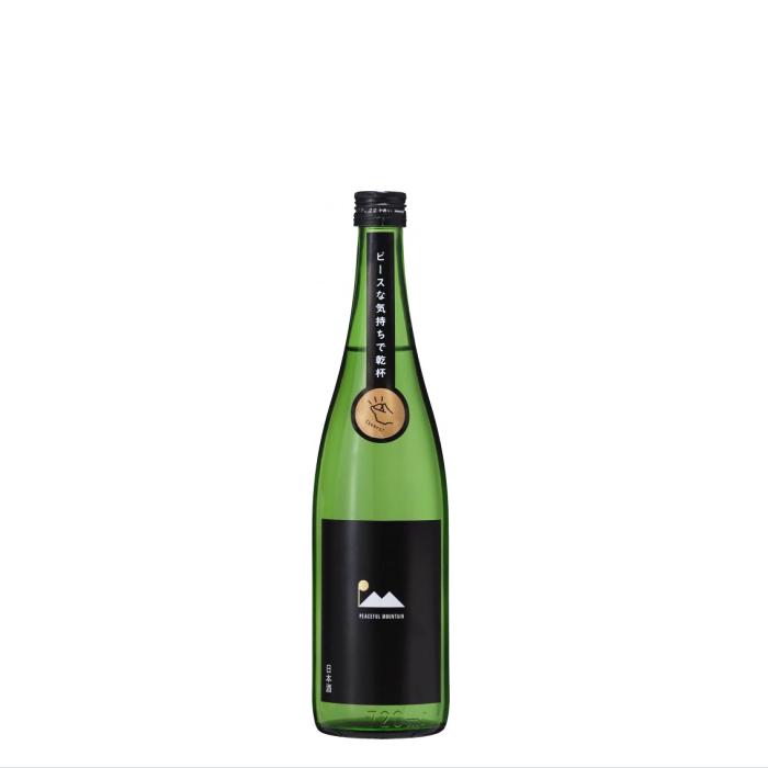 太平山限定酒 Peaceful Mountain 純米吟醸 Black 720ml