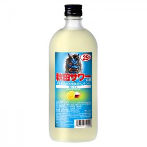 秋田サワーの素 塩レモン 720ml
